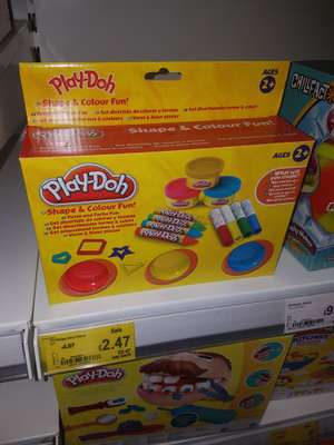 Play-Doh shape and colour £2.47 @ asda instore