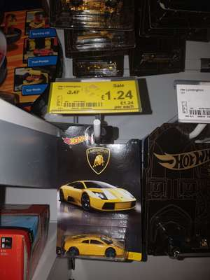 Hot wheels cars - £1.24 @ asda instore