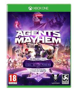 Agents of Mayhem Day One Edition Xbox / PS4 - £3.49 @ Go2games