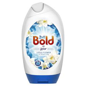 Bold Gel With Lenor Lotus Flower and Lilly 888ml £3.00 @ Wilko (Free C&C)