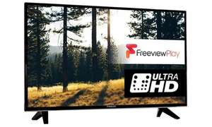 Finlux 43-FUC-5520 43inch 4k TV £229 @ Groupon (12% quidco cashback available)