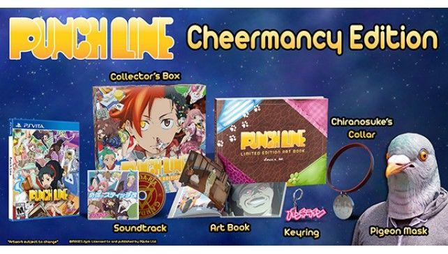 Punchline Cheermancy edition Vita/PS4 Preorder - Rice Digital/Base @ £79.99 / £26.85