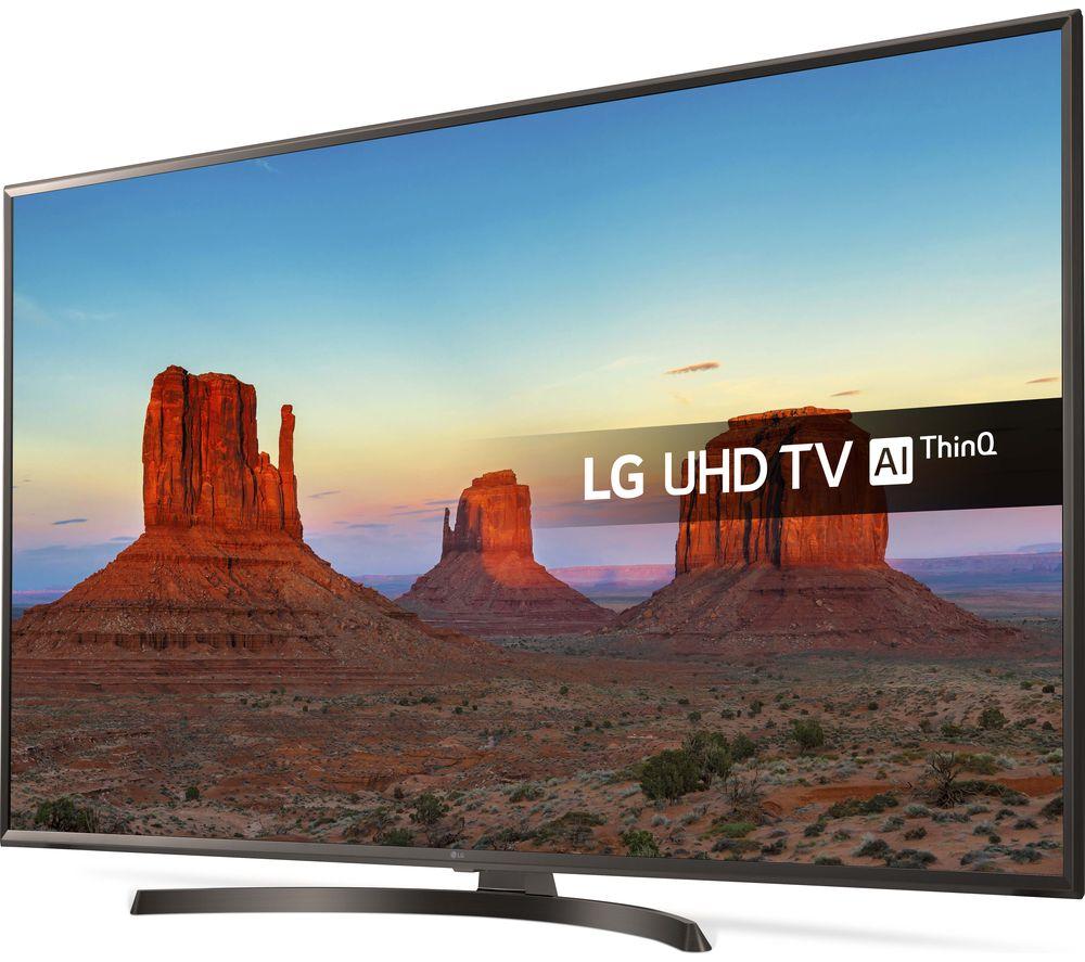 """LG 50UK6470PLC 50"""" Smart 4K Ultra HD HDR LED TV £499 @ Currys PCWorld"""