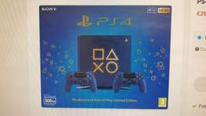 PS4 Days of Play Console's - £259.99 instore @ Smyths Toys Speke