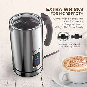 Milk Frother, VAVA Electric Liquid Heater with Hot or Cold Milk Functionality £23.99 w/code Sold by Sunvalleytek-UK and Fulfilled by Amazon