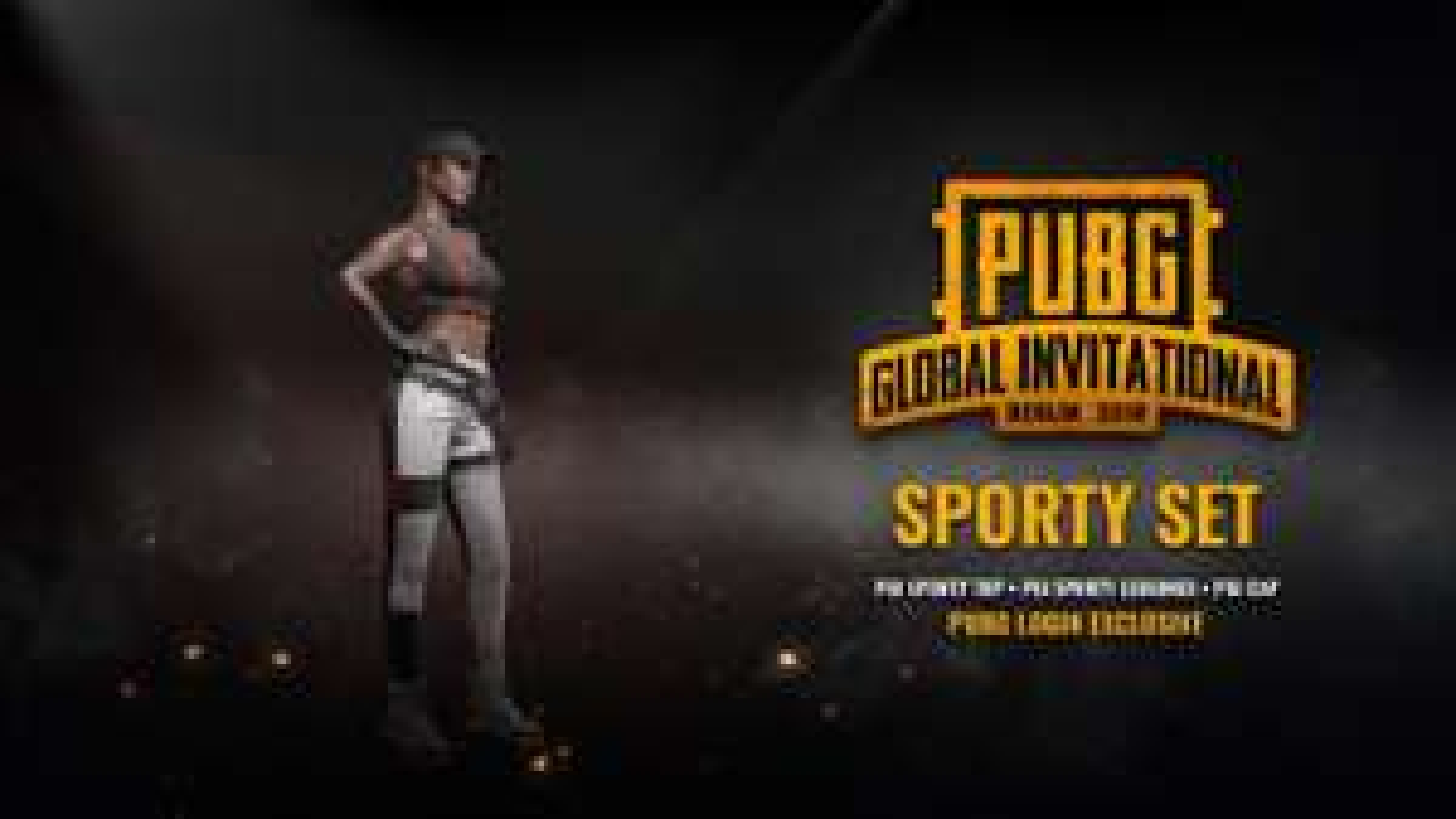 Free PGI Sporty Set - Player Unknown's Battlegrounds (PUBG) @ Steam