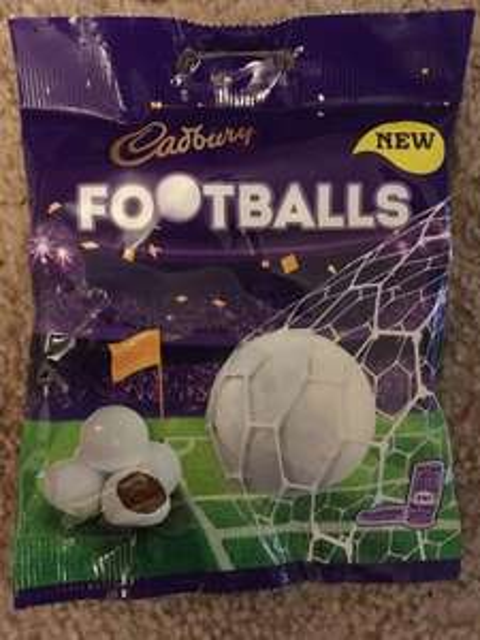 Cadbury Foodballs 74p instore @ Co-op