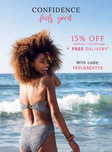 15% off nearly EVERYTHING @ Figleaves plus FREE delivery