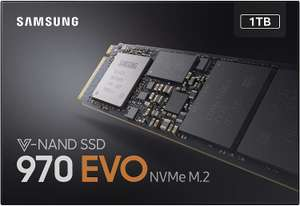 Samsung 970 EVO 1 TB V-NAND M.2 NVMe PCI Express Solid State Drive £289.99 Amazon