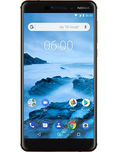 Nokia 6 2018 Black, 32GB, Snapdragon 630 and EDIT: 3GB of RAM £149 CPW (Vodafone contract)
