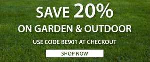 20% off Garden and outdoor with Code @ Expert Verdict