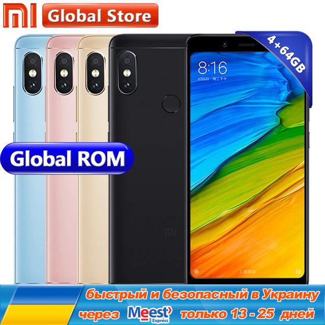 "Xiaomi Redmi Note 5 4GB 64GB Mobile Phone Snapdragon S636 Octa Core 4000mAh MIUI9 FullScreen 5.99"" 2160*1080 12.0+5.0M £176.80 Ali Express / Mi Global Store"