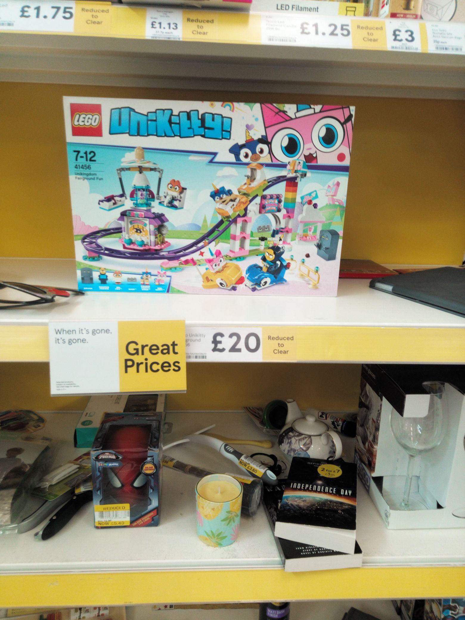 Unikitty rollercoaster Lego set - £20 instore @ Tesco