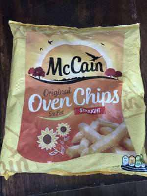 McCain Oven Chips - Co-op instore - 17p