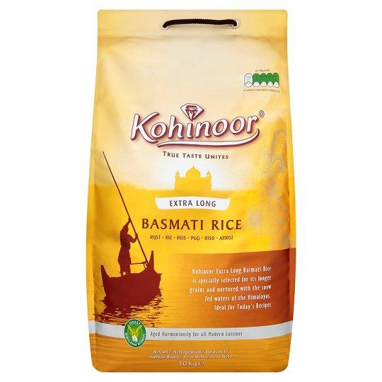 Kohinoor rice (in silver packaging) 10kg £4.60 @ asda woolstanton