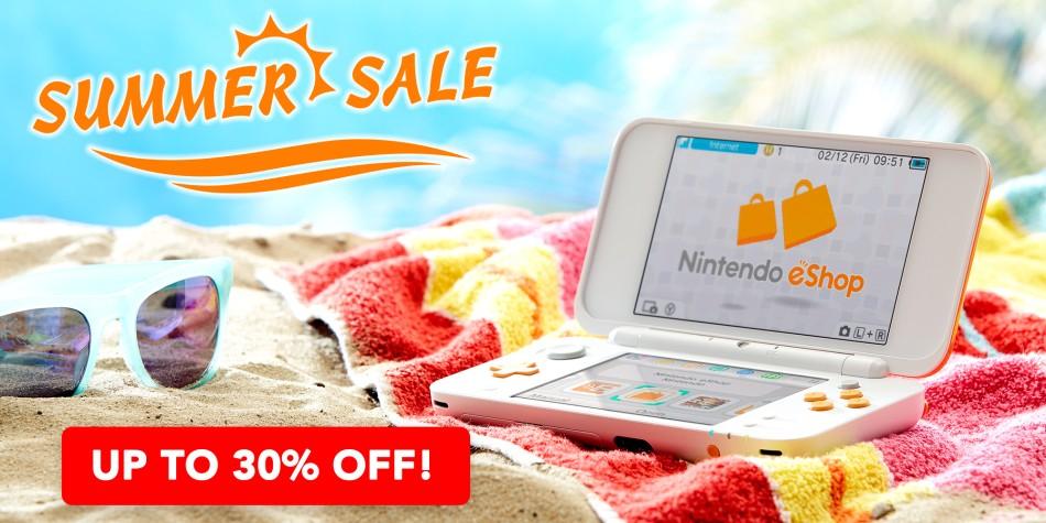 Nintendo 3DS eShop Summer Sale