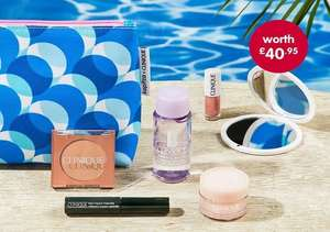 Clinique bonus time - Free 6 piece Clinique gift set (worth approx £40) when you buy two Clinique products @ Boots (more in OP)