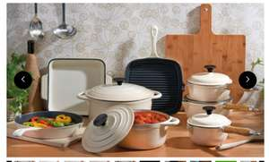 Cooks Professional Three-, Five- or Eight-Piece Cast Iron Set in Choice of Colour With Free Delivery (possible 12% cash back with quidco) from £47.99-£137.99 @ Groupon price is for 8 piece set