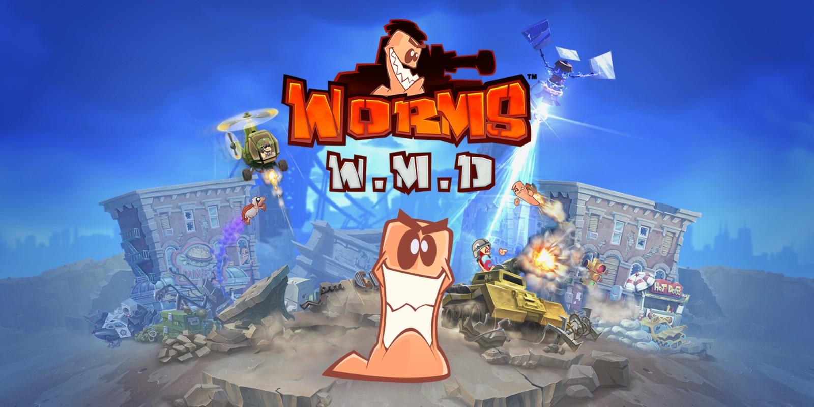 Worms W.M.D £11.99 @ Nintendo Switch eShop