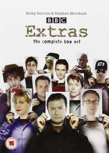 Extras DVD: Series 1+2 and the Christmas Special (used) (£1.52 delivered at MusicMagpie)