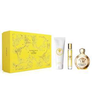 Versace Eros Pour Femme 100ml EDP Gift Set £48 delivered with code at The Fragrance Shop
