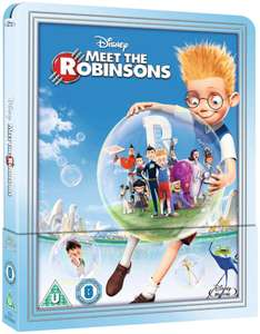 Meet the Robinsons - Zavvi Exclusive Limited Edition Steelbook (The Disney Collection #47) Preorder - £18.99 @ Zavvi
