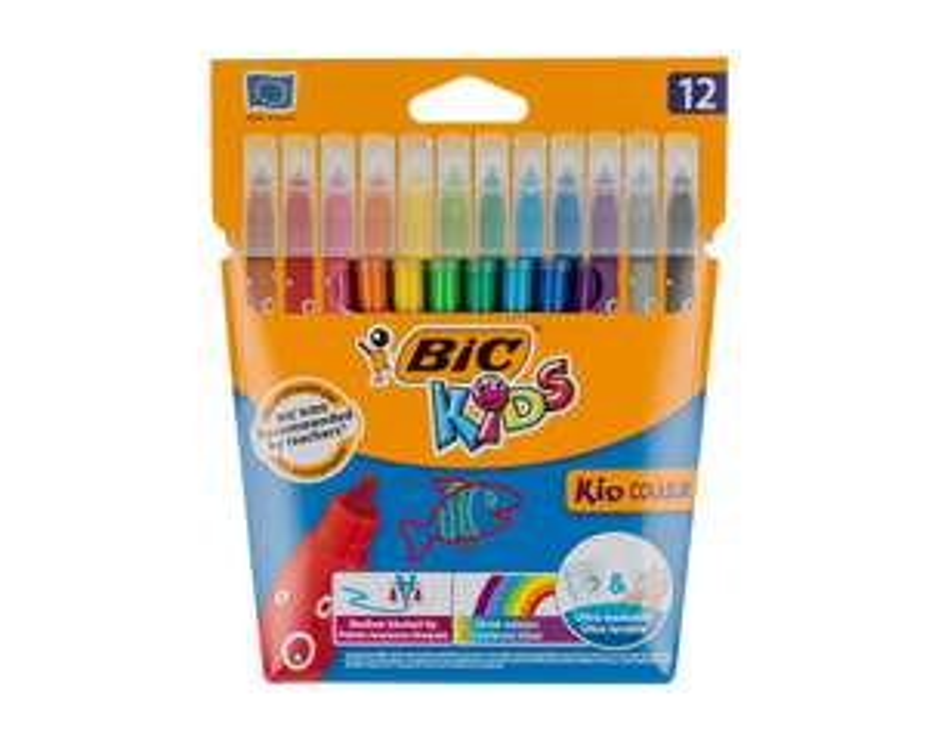 Bargain BiC Pens, Felt tips & Crayons @ Ryman  - Free C&C from £1.49