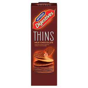 McVitie's Digestive Thins  Milk Chocolate - 2 for £1 @ Heron Foods