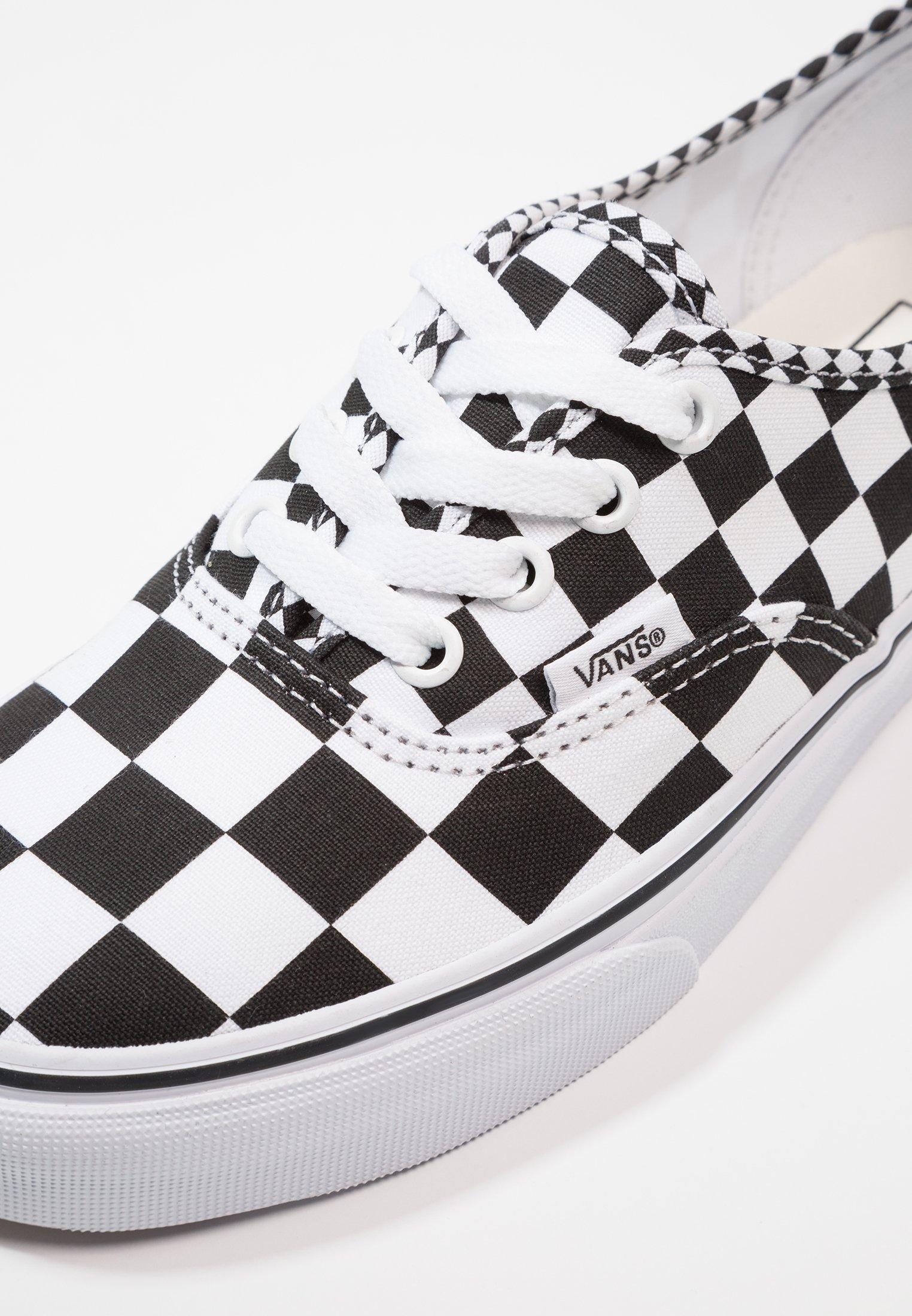 Vans Authentic Trainers - B&W Checkerboard @ Zalando - £20
