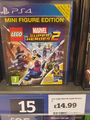 LEGO Marvel Superheroes 2 PS4/Xbone £14.99 @ Sainsburys
