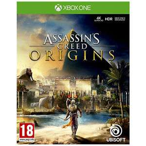 Ubisoft Assassins Creed Origins Game Standard Edition For Xbox One Ages 18+ BRAND NEW WITH A 12 MONTH TESCO OUTLET WARRANTY £19.50 delivered @ tesco outlet/ebay