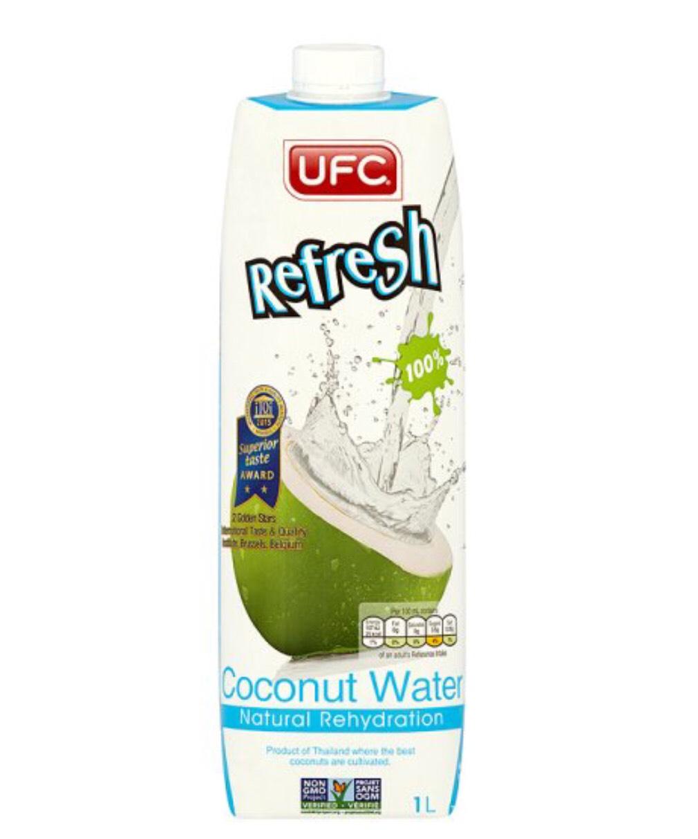 UFC Coconut Water 1L £1.50 at Asda