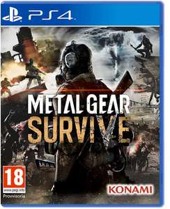 Metal Gear Survive for PS4 £9.99 from Base.com