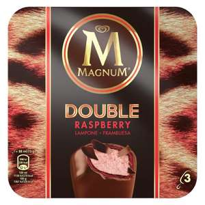 Magnum double raspberry 2 for £3 asda