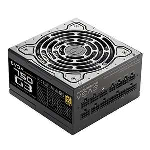 Pre-order EVGA SuperNOVA 750 G3, 80 Plus Gold 750W, Fully Modular £86.99 @ Amazon