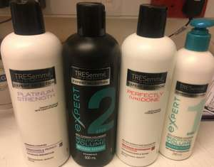 Selected tresemme shampoo & conditioner reduced to £1 each at poundland
