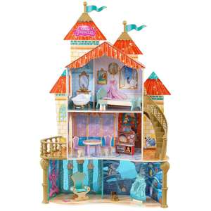 Princess Ariel Land to Sea Castle wooden Dollhouse with accessories - £59.99 @ Amazon / Dispatched from and sold by XS Items Ltd.