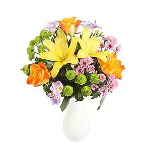 Additional 15% off The Colourburst Bouquet with Code @ Serenata Flowers