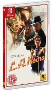 LA Noire Nintendo Switch £14.86 Delivered @ Shopto.net