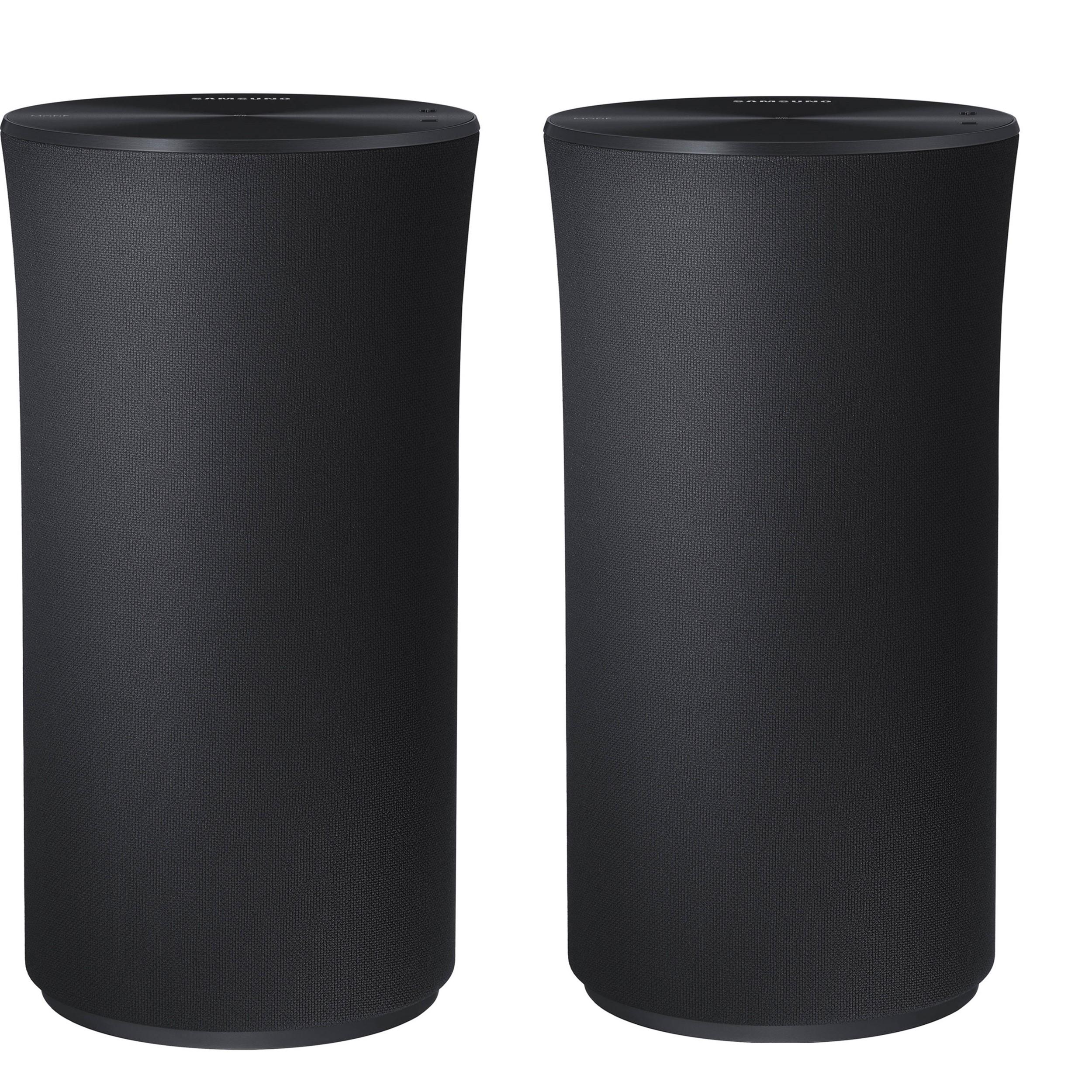2 x SAMSUNG R1 360° Wireless Smart Sound Multi-Room Speakers - Black + Free 6 Months Deezer Premium - £99 @ Samsung