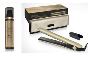 20% off a £120 spend w/code @ GHD For eg; ghd GOLD Pure Gold Styler + Heat-resistant bag + free ghd heat protect spray (was £139) Now £111.20 delivered