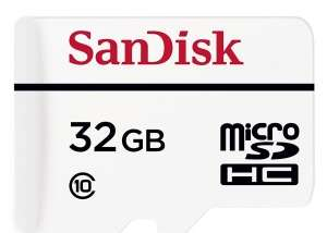 Sandisk 32gb high endurance micro sd card - £13.99 delivered @ PicStop