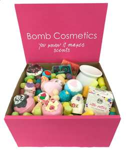 Bomb Cosmetics Lucky Dip Box - £24 with code @ Bomb Cosmetics