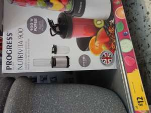 Progress Nutri Pro 900 in store - £12 @ morrisons Queensbury