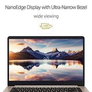 ASUS S510UQ-BQ204T 15.6-Inch Nano Edge Screen VivoBook (Gold) - (Intel Core i7-7500U, 8GB RAM, 256GB SSD, Nvidia GTX940MX, Windows 10) - £679.97 @ Amazon