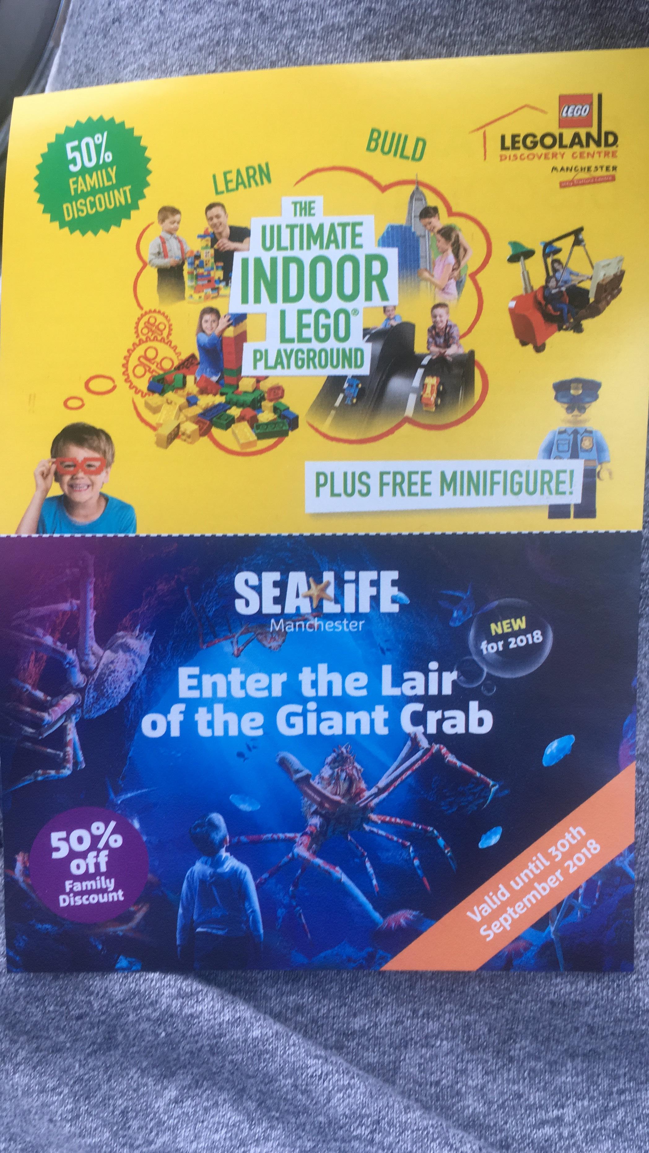 Manchester LegoLand/SeaLife