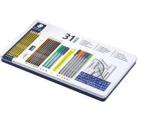 Back to School Staedtler 31 Piece Stationery Set was £22 now £8 at Tesco