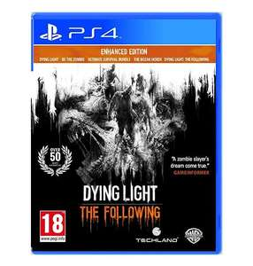 Dying Light: The Following Enhanced Edition (PS4) - £12.99 *Prime) £15.98 (Non Prime) @ Amazon
