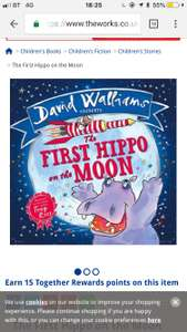David Walliams Picture Books (Hardback) £3 @ The Works