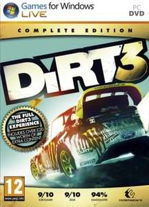 DiRT 3 Complete Edition £0.94 @ Instant Gaming